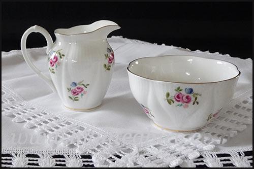 Creamer jug Sugar bowls all for hire at high tea hire Napier