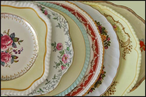 Dozens of cake plates to choose from with High Tea Hire Napier NZ