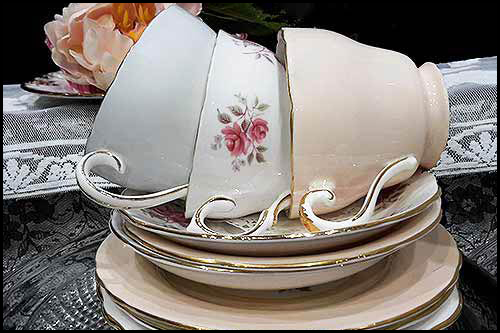 Adderley Fine bone China high tea hire napier NZ