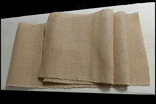 Hessian Table Runners for Event Hire, Vintage China Hire, Napier NZ