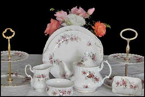 Everything you need to make your vintage china party a success at High tea Hire Napier