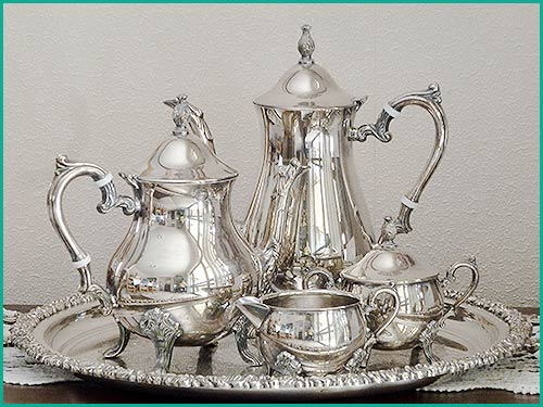 Silver-Service-Tea-set-and-tray--for-hire-at-High-Tea-Hire-Napier