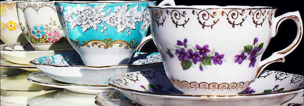 Hire your vintage china cup sets from High Tea Hire Napier