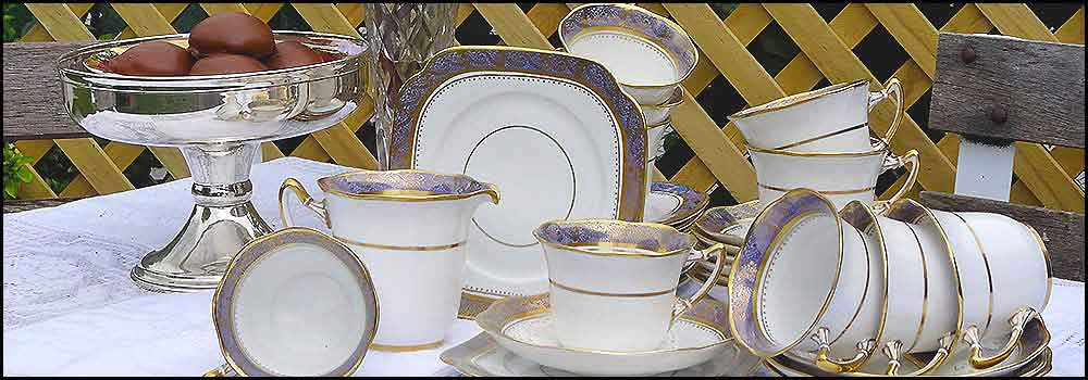 Fine China for hire at High tea Hire Napier NZ
