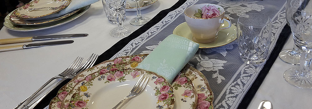 Hire your vintage silver for your next party from High Tea Hire