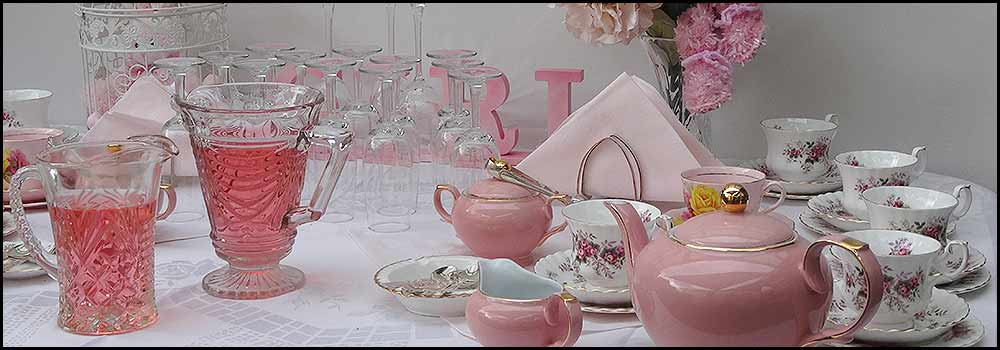 Baby Showers, Vintage China Hire Napier NZ
