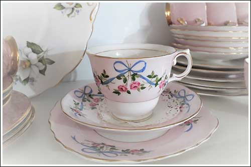 Baby-pink-cup-set-high-tea-hire-napier-New-Zealand