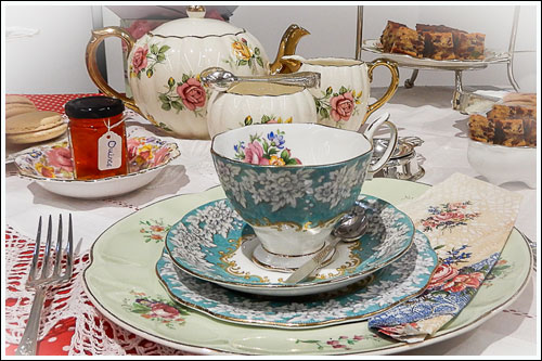 Mix-and-match-vintage-high-tea-hire-napier-nz