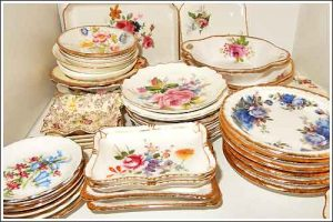 Vintage-Jam-dishes-high-tea-hire-napier-nz