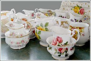 vintage-Milk-jugs-Creamers-Sugar-bowl-sets-party-high-tea-hire-napier-nz