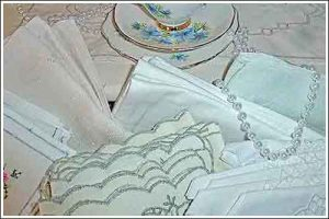 Assortment-of-Table-Napkins-event-functions-high-tea-hire-napier-nz