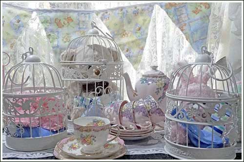 Baby-Shower-Bird-Cage-High-Tea-Hire-Napier