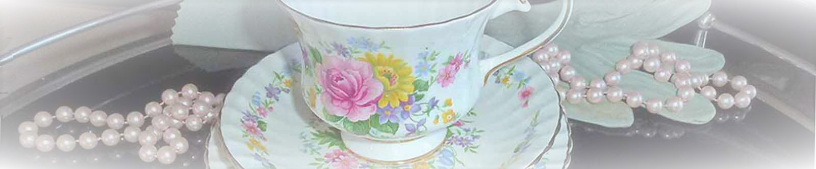 Hire Vintage china from High-Tea-Hire-Napier-New-Zealand