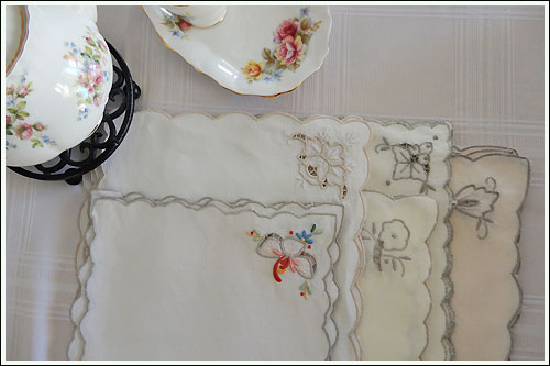 Morning-tea-table-napkins-high-tea-hire-napier-NZ