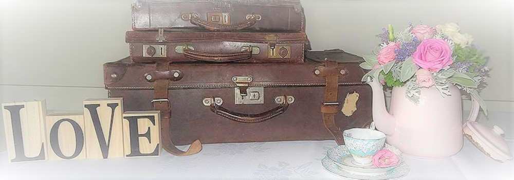 Signs-metal-teapot-suitcases-Vintage-China-Hire-Napier-NZ (2)