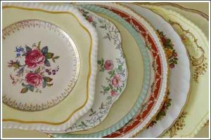 Vintage-cake-plates-high-Tea-party-Hire-Napier-