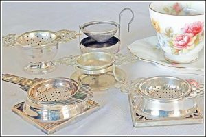 Vintage-loose-tea-strainers-high-tea-hire-napier-nz