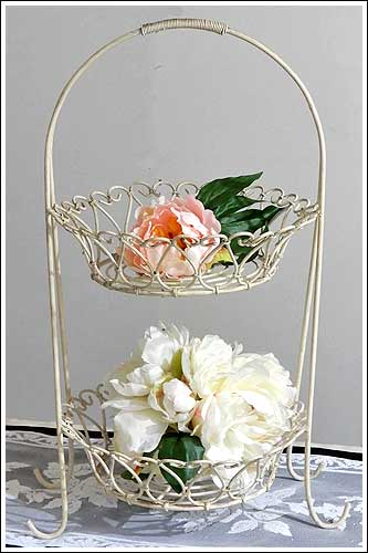 Wire-tiered-baskets-High-Tea-event-Hire-Napier-New-Zealand