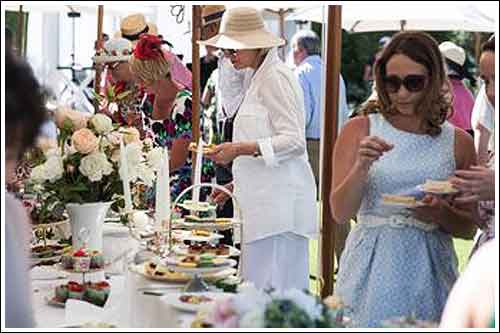 Hire your china and linen from High Tea Hire for your Garden Party this Spring and Summer