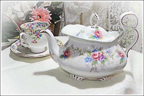 Childrens Vintage Tea Party -High Tea Hire Napier