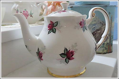 High Tea Hire Napier NZ childs teapot